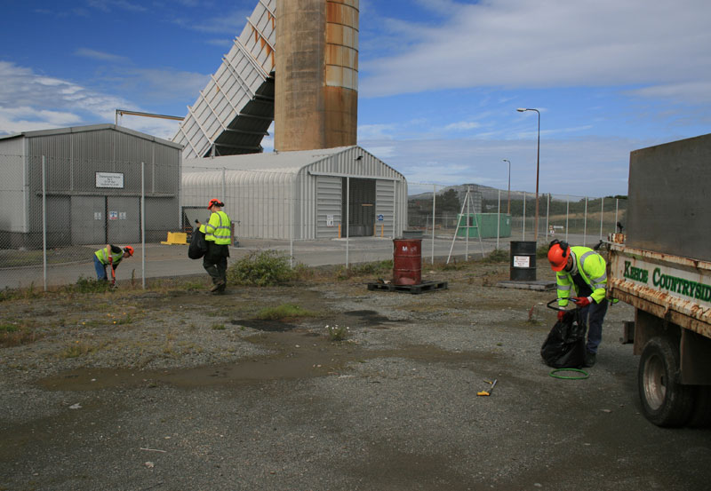 Site Cleansing And Waste Disposal